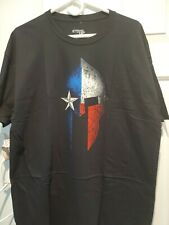 Ranger up Mens T Shirt texas spartan   black usa  Regular Fit Cotton  xl