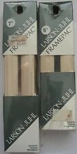 "Larson Juhl Wood Frame Kit SPRA5 SPRA7 Two Kits 1 5"" X 7"" Frame Pac"