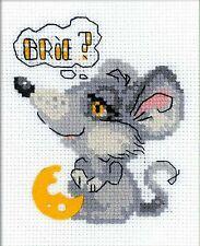 RIOLIS  HB140  Rêve de Souris  Broderie  Point de Croix  Compté pour enfant