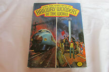 COLLECTABLE 1974 - RAILWAY WONDERS OF THE WORLD ANNUAL - COLOUR