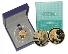 France 2011 50  EURO Cosette - Victor Hugo 1/4 Oz .920 Gold Coin Low MINTAGE!!!