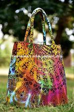 Mandala Indian Tote Bag Shoulder Cotton Women Satchel Purse Lady Handbag Gift