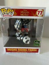 Funko Pop! Rides - Disney Mulan - Mushu Riding Panda ECCC Shared Exclusive NIB
