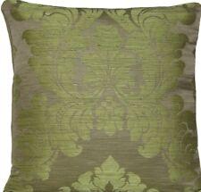 """Cubierta Cojín Verde Pierre Frey Funda de almohada de tela de algodón de seda Olbia 18"""""""