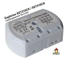 Halogentrafo Eaglerise EET210CK / SET210CS 12V 50-210 Watt Transformator dimmbar
