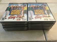 High School Musical: Sing It (Sony PlayStation 2, 2007) PS2 NEW