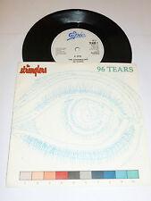 "THE STRANGLERS - 96 Tears - 1990 UK 7"" Vinyl Single"