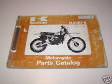 Parts Catalog Kawasaki KX 80 B Stand 1979
