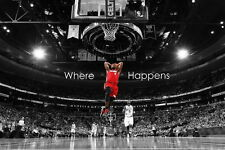 "34 LeBron James 2012 NBA MVP Slam Dunk 21""x14"" Poster"
