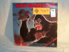 "Vntge 1987 KING KONG LIVES Sealed 12"" LP 33 RPM Mint Movie Soundtrack MCA Reco"