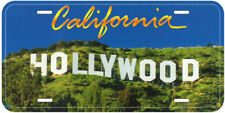 California Hollywood Novelty Car License Plate