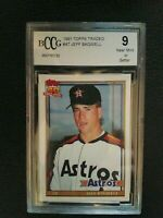 1991 Topps Traded #4T Jeff Bagwell RC BCCG 9 NM or Better