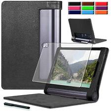 9H Panzerglas Folie+ Tasche Lenovo Yoga Tab 3 Plus /Tab 3 Pro 10 YT3-X90 Case-2