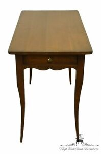 """SOUTHAMPTON Solid Cherry Country French Style 19x34"""" Accent End Table"""