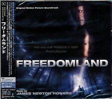 """James Newton Howard """"FREEDOMLAND"""" score Japan CD SEALED"""