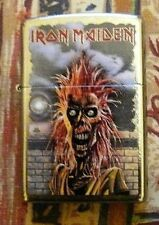 MUSIC IRON MAIDEN SKELETON ZIPPO LIGHTER FREE P&P FREE FLINTS
