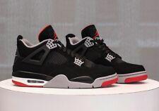 🔥Nike Air Jordan IV Retro bred 15 High OG Mid IV 1 3 4 5 7 XI I V Black Cement