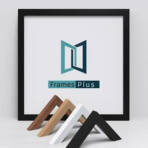 Square Picture Frame Photo Frame Poster Size Frame Black Oak White Walnut