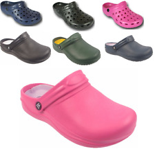 Womens Garden Clogs Gardening Shoes Outdoor Town & Co Wetlands UK Sizes 3 - 8
