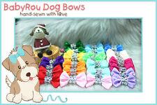 ~BabyRou~ 50 Dog Grooming Pet Ribbon Bows (Basic Bling Bling!)