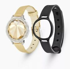 NEW Swarovski Cardoon Activity set:Crystal Tracker Band Bracelet with Sport Band
