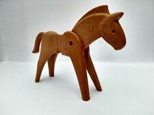 * Playmobil * caballo marrón claro (versión antigua) * 3333 3351 3353 3244 3405 3406 3265 *