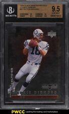 1998 Black Diamond Double Peyton Manning ROOKIE RC /2500 #91 BGS 9.5 GEM MINT