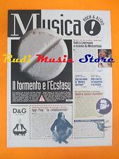 rivista MUSICA! REPUBBLICA 45/1996 Iggy Pop Antonella Roggero McCartney  No*cd