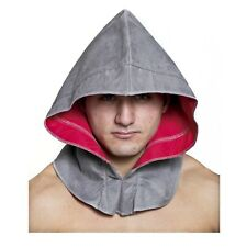 Adult Assassin's Creed Altair Ezio Creed Gray Halloween Costume Cosplay Hood