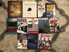 Chicago Cubs Lot Of 12 Books - Hardcovers and Softcovers