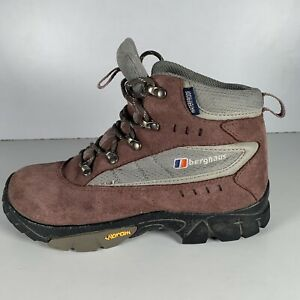 Berghaus Waterproof Walking Boots Vibram Sole Raid II Jnr Womens/Girls Size UK 3