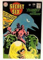 Secret Six #2 VF Old High Grade DC Comic Book Plunder the Pentagon  Comics book