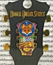 2018 HARD ROCK CAFE FOXWOODS HIDDEN GUITAR SERIES/ROULETTE WHEEL TABLE LE PIN