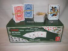Rommekarten, Spielkarten, Romme, Canasta, Skat, Kartenspiel