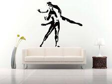 Wall Room Decor Art Vinyl Sticker Mural Decal Ballet Dance Women Ballerina FI353
