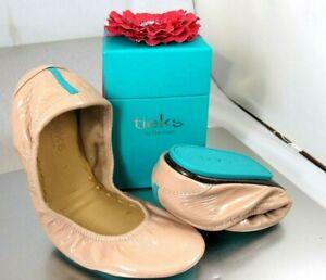 TIEKS Blush Patent Ballet Flats Size 9 New In Box