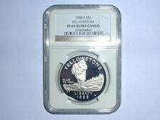 1999-P $1 Yellowstone Commemorative Silver Dollar NGC PF 69 UC