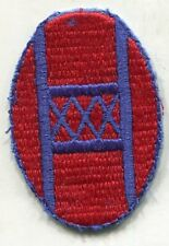 US Army 30th Infantry Division COLOR Patch Cut Edge