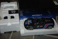 PORSCHE 918 SPYDER MARTINI BLACK Autoart 1/18 SEE INFO IN BOX