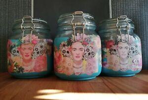 Frida Kahlo Food Storage Jars