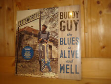 BUDDY GUY The Blues is Alive and Well RCA 2 LP Limited Edition Clear Vinyl NEW