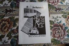 Reklame 1938 A3 / Rheinbahn Düsseldorf