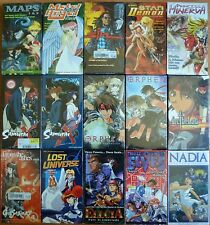 Wholesale Lot of 15 Anime VHS VIdeo Tape New Dubbed in English Maps Sin Ellcia +