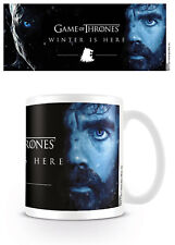 GAME OF THRONES - Winter Is Here - Tyrion - Coffee Mug Tasse Kaffeebecher - Neu