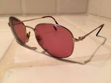 f120c58908 Vintage Gold Gucci Eyeglasses GG 1235 S AX2 53-18 145 Made in Italy