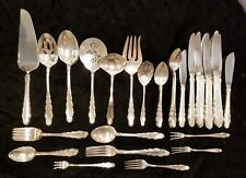 Genuine 93 Piece English Provincial by Reed and Barton Sterling Silver Flatware