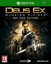 Deus Ex Mankind Divided Day One Edition Xbox One * NEW SEALED PAL *