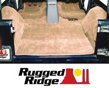 Rugged Ridge Deluxe Carpet Kit 6 pc. for 97-06 Jeep Wrangler TJ 13696.10 Honey