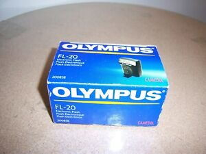 Olympus FL-20 Flash for SP C5000 C750 C770 C5060 C7070 C8080 E1 E300 E500 NOS