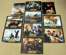 ADVENTURES OF TINTIN Snowy LOBBY CARD SET animation RARE SEALED LCS